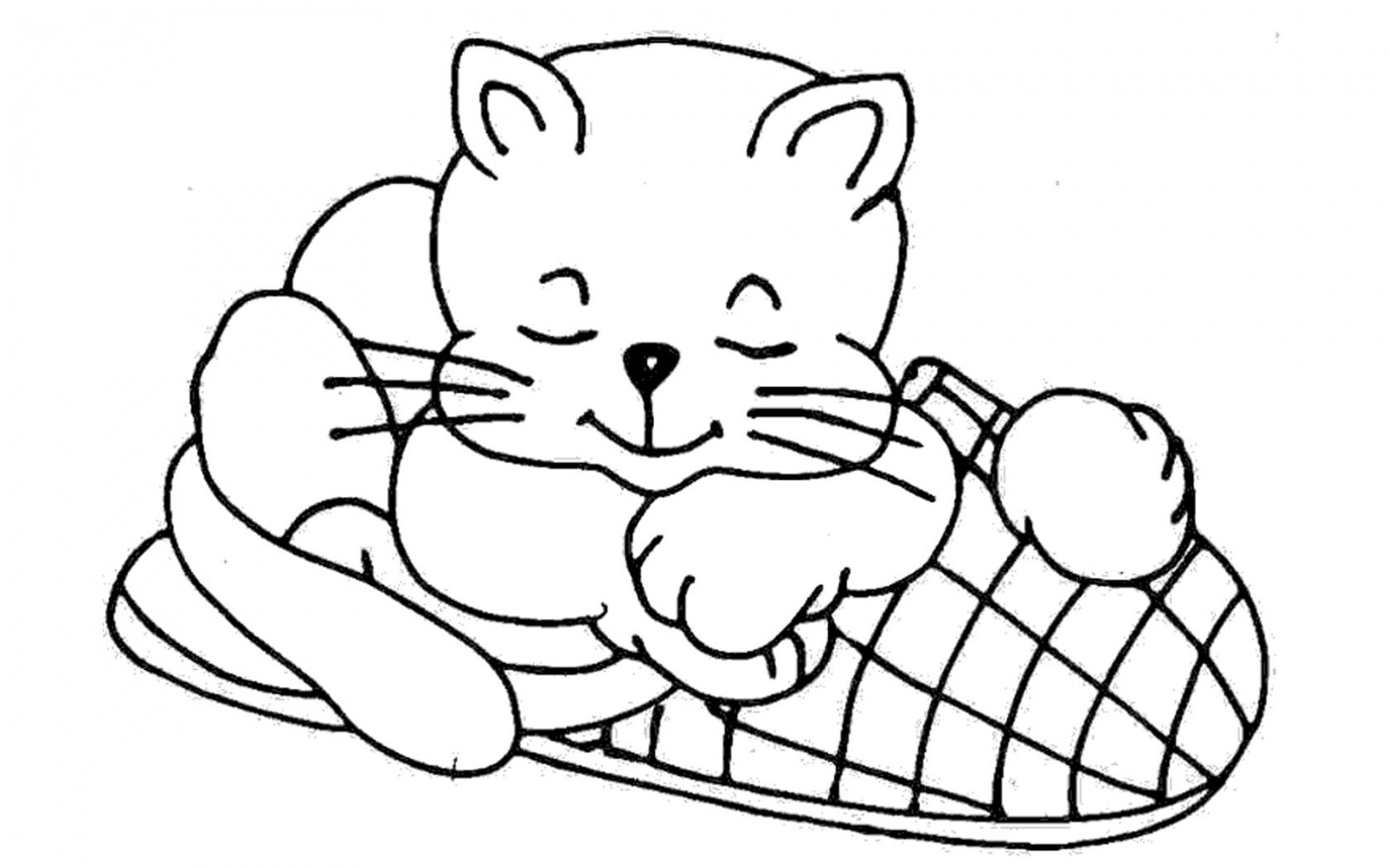 Imagenes Dibujos Mandalas De Gatos Para Colorear