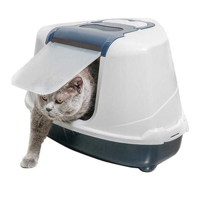 Los areneros cerrados para gatos es una de las múltiples alternativas para que ellos tengan en donde hacer sus necesidades